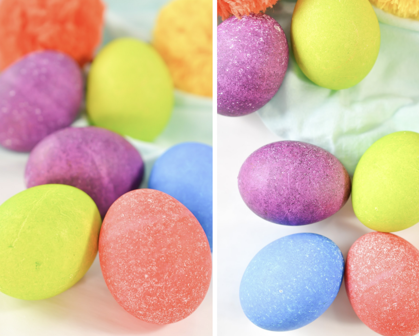 how to dye eggs with rice