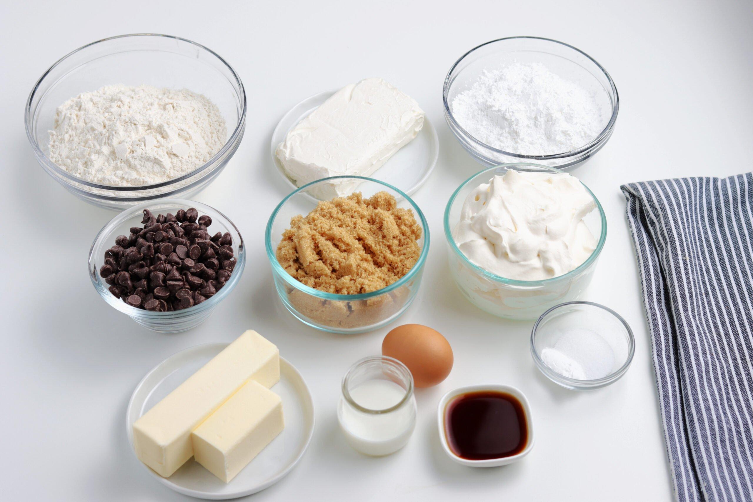 cookie pizza ingredients