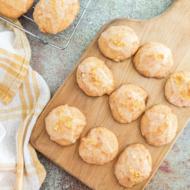 Glazed Orange Carrot Cookies Recipe