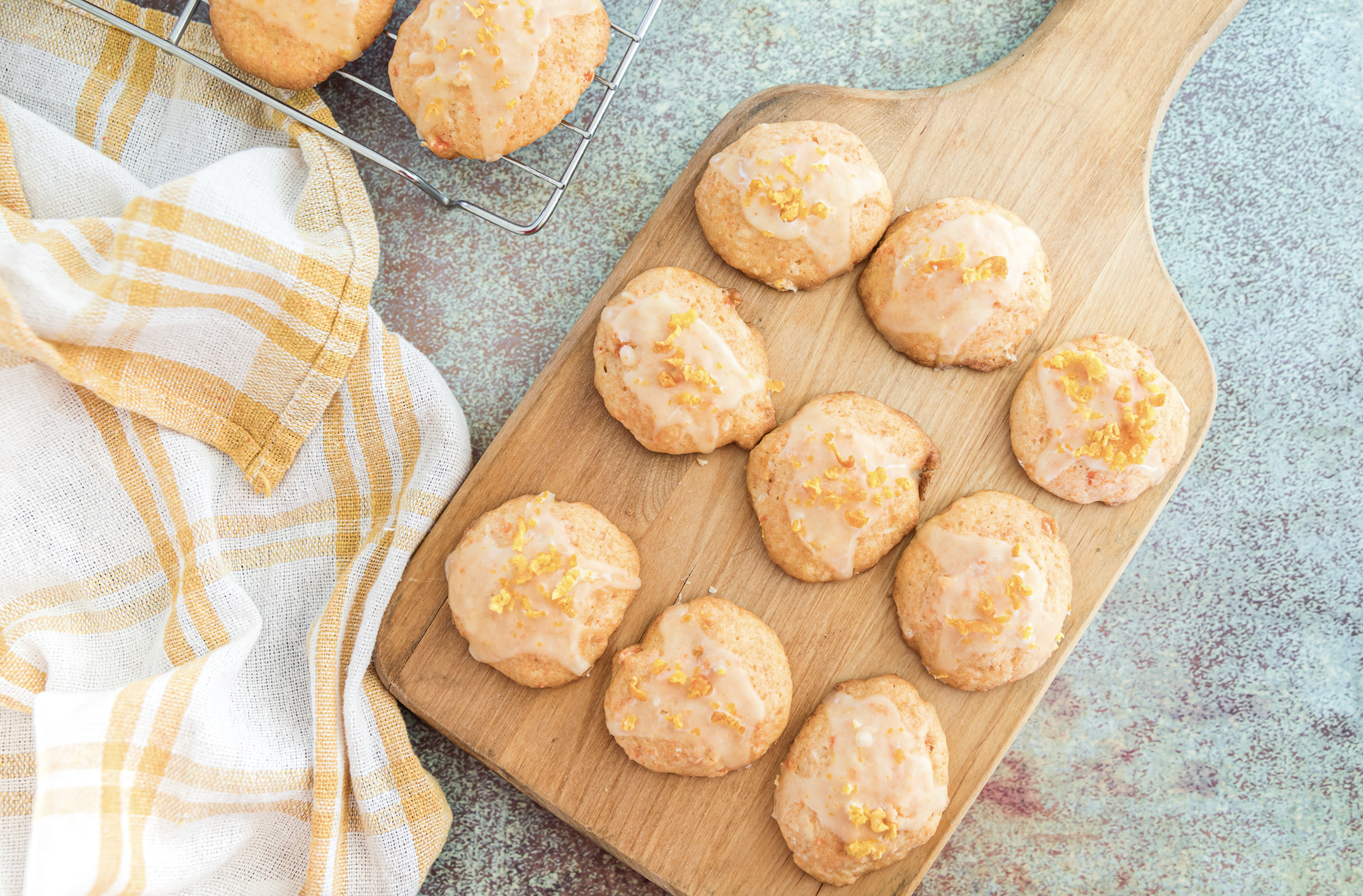 orange carrot cookies