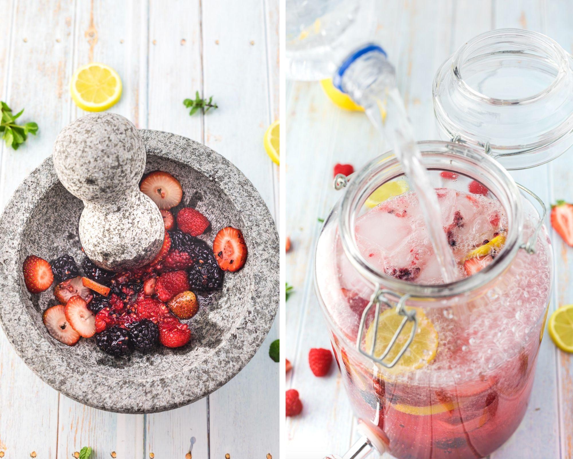 sparkling berry lemonade recipe