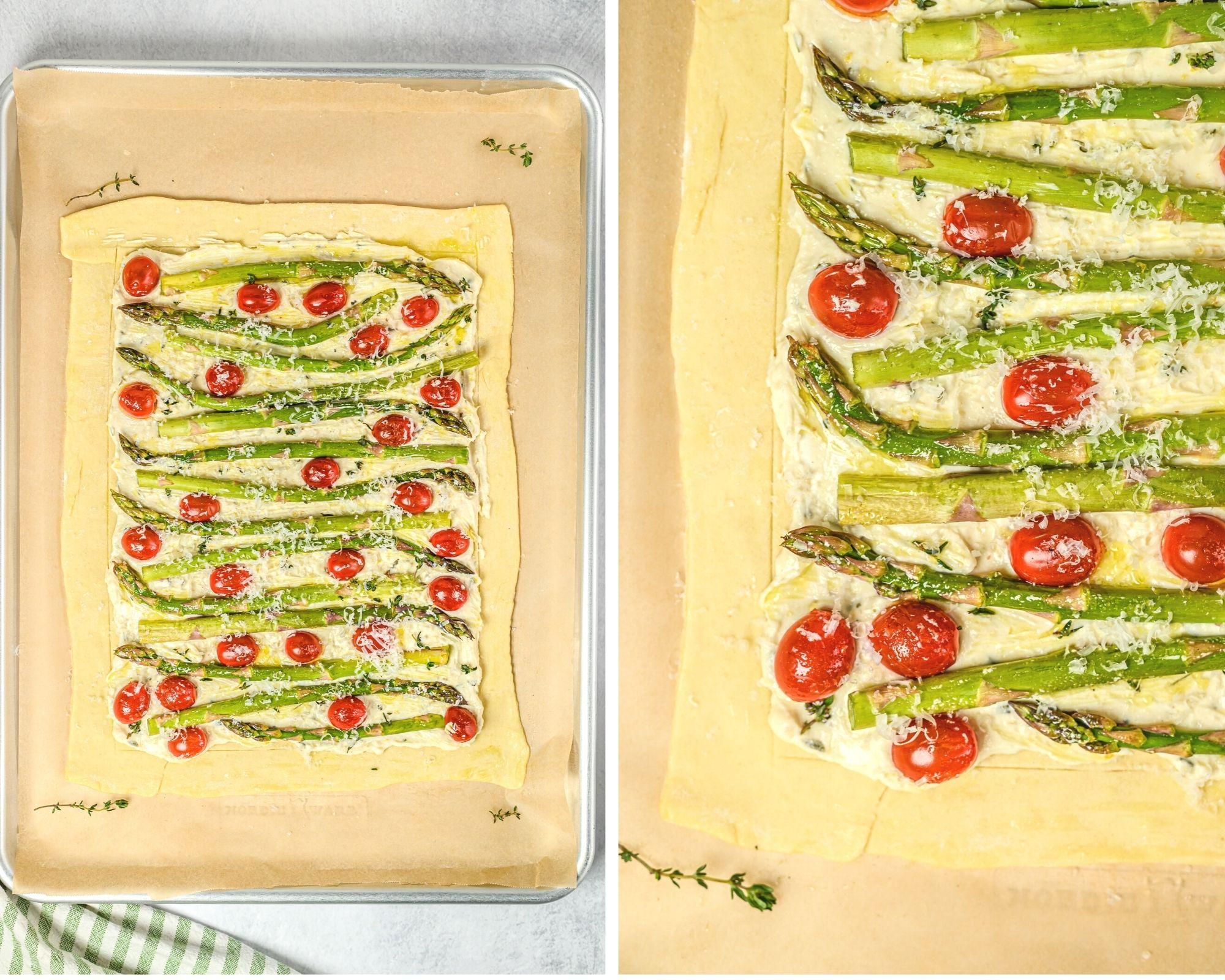 asparagus and tomato tart recipe