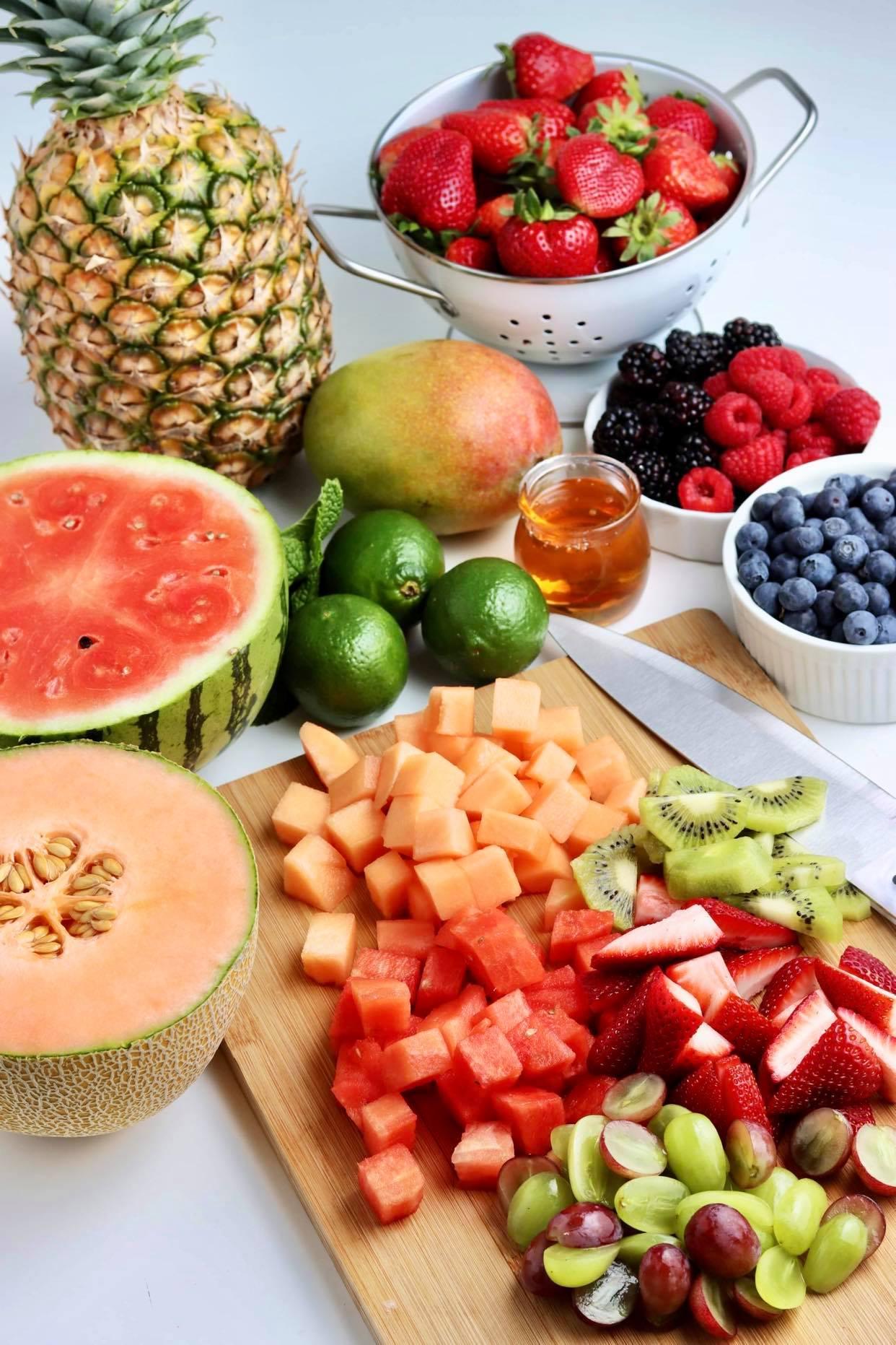 the best summer fruit salad
