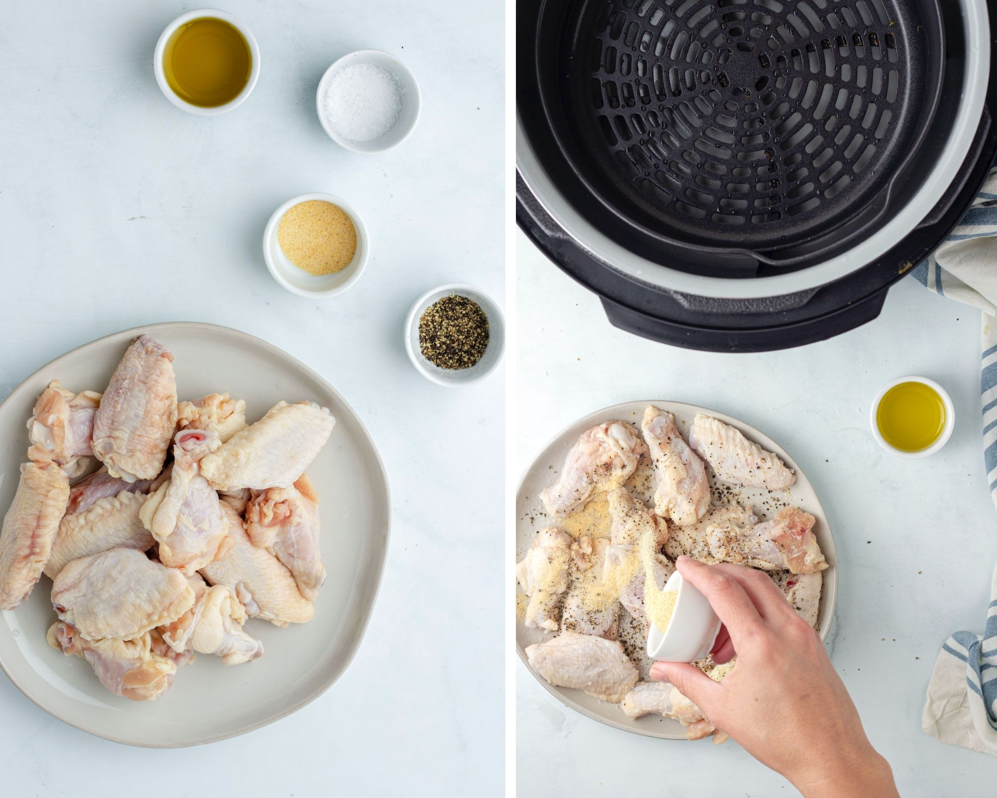 how to make chicken wings in the air fryer