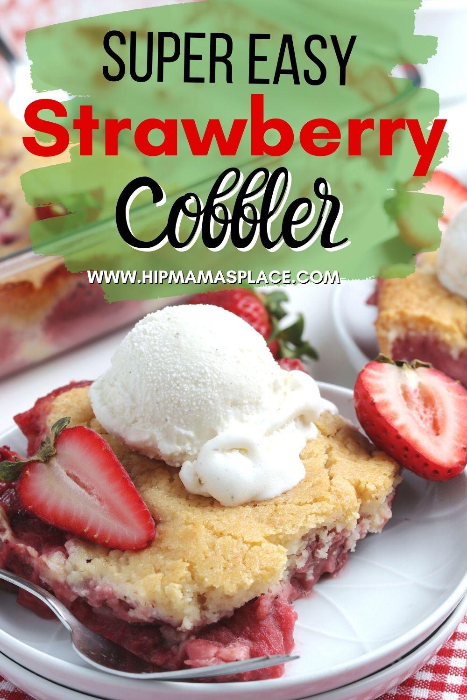 strawberry cobbler recipe