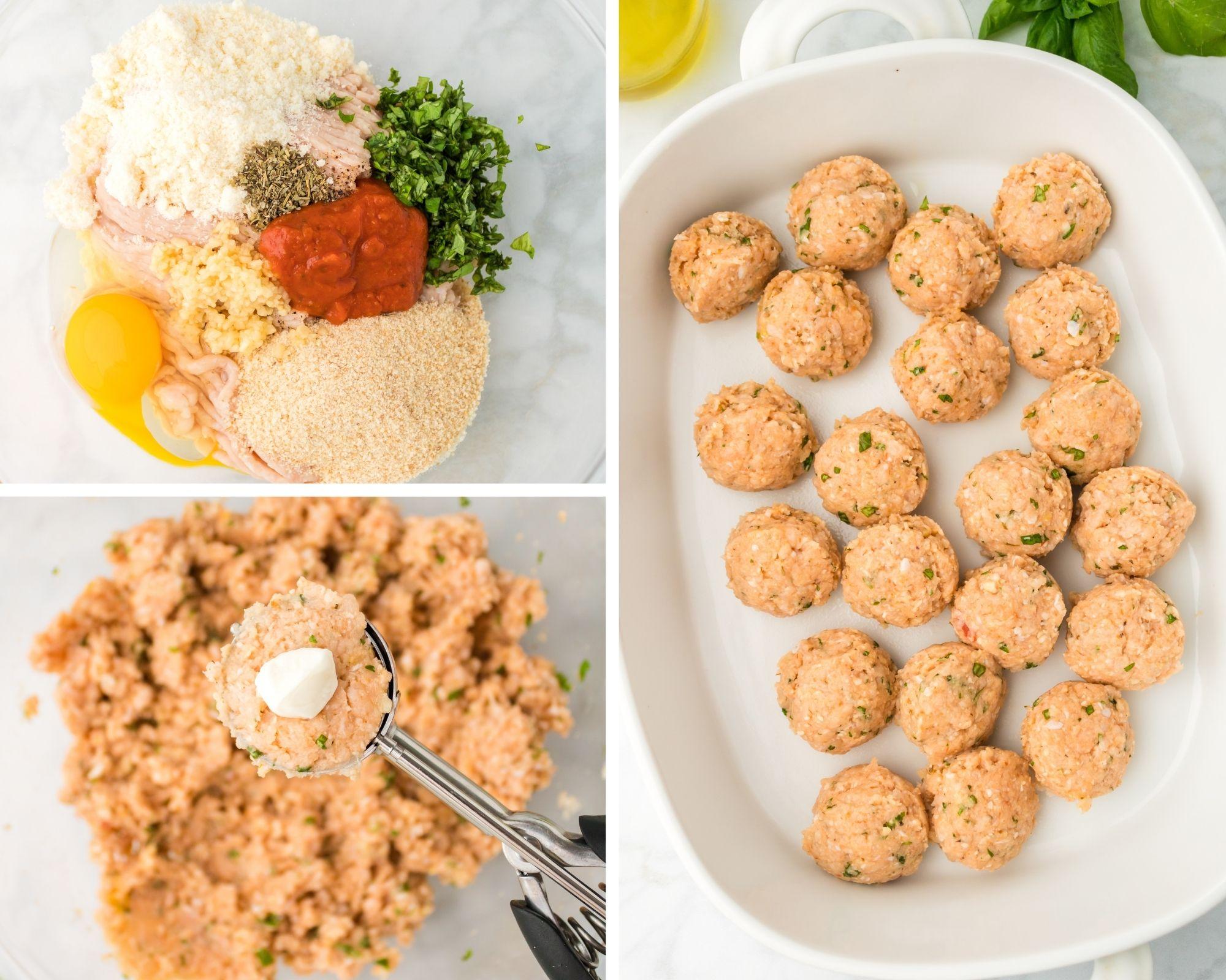 easy chicken parmesan meatballs recipe