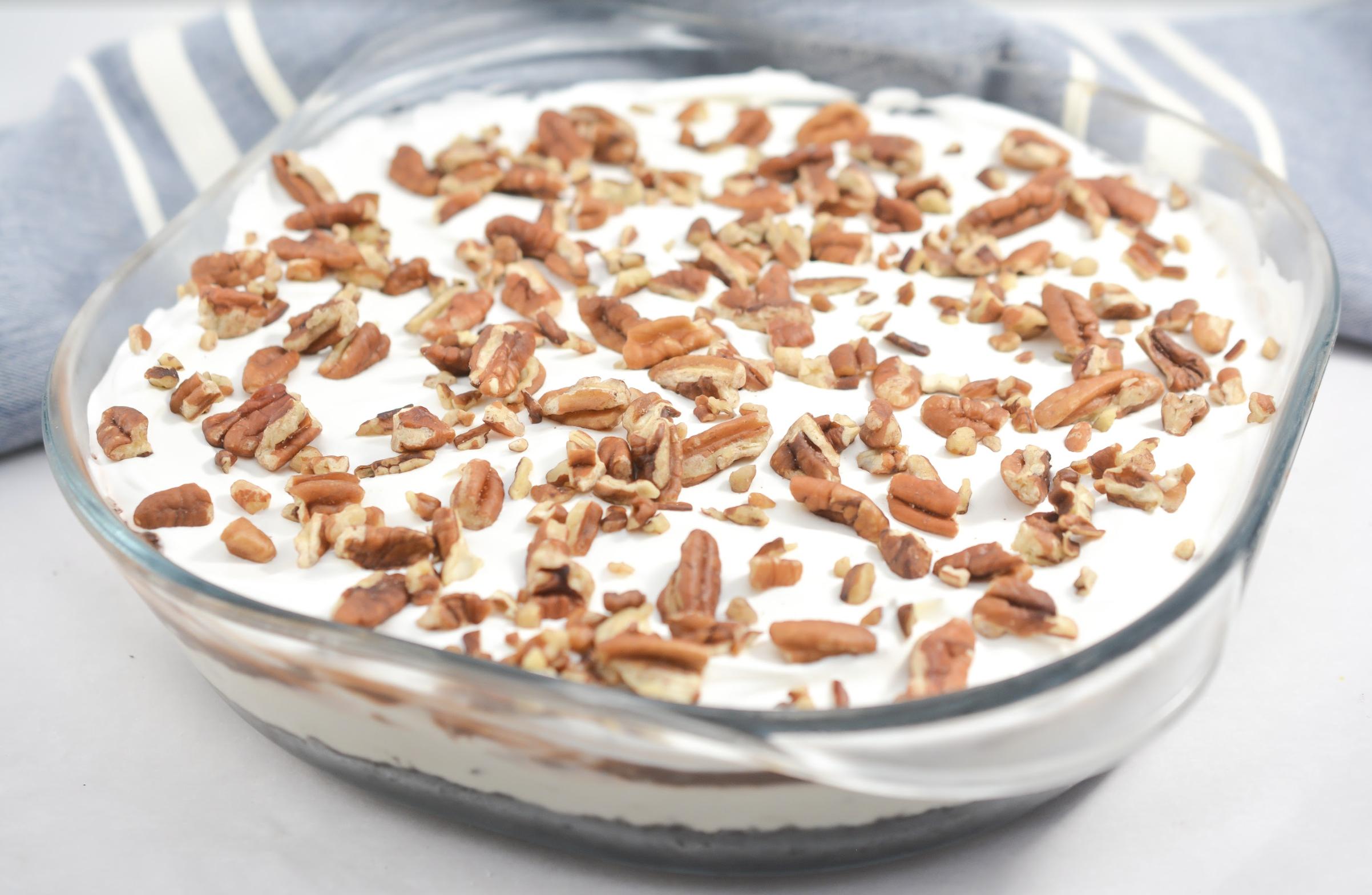 no-bake mocha icebox cake recipe