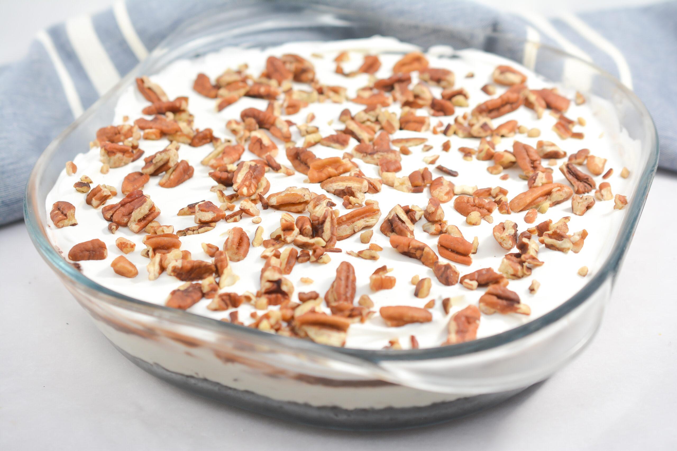 no-bake mocha icebox cake