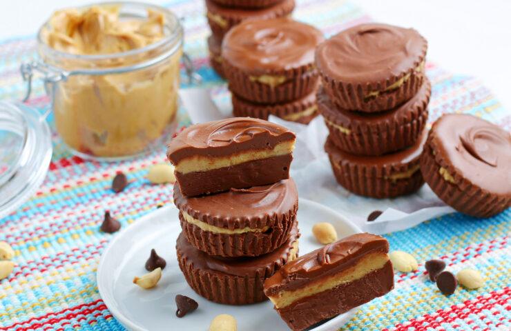 The BEST Homemade Peanut Butter Cups