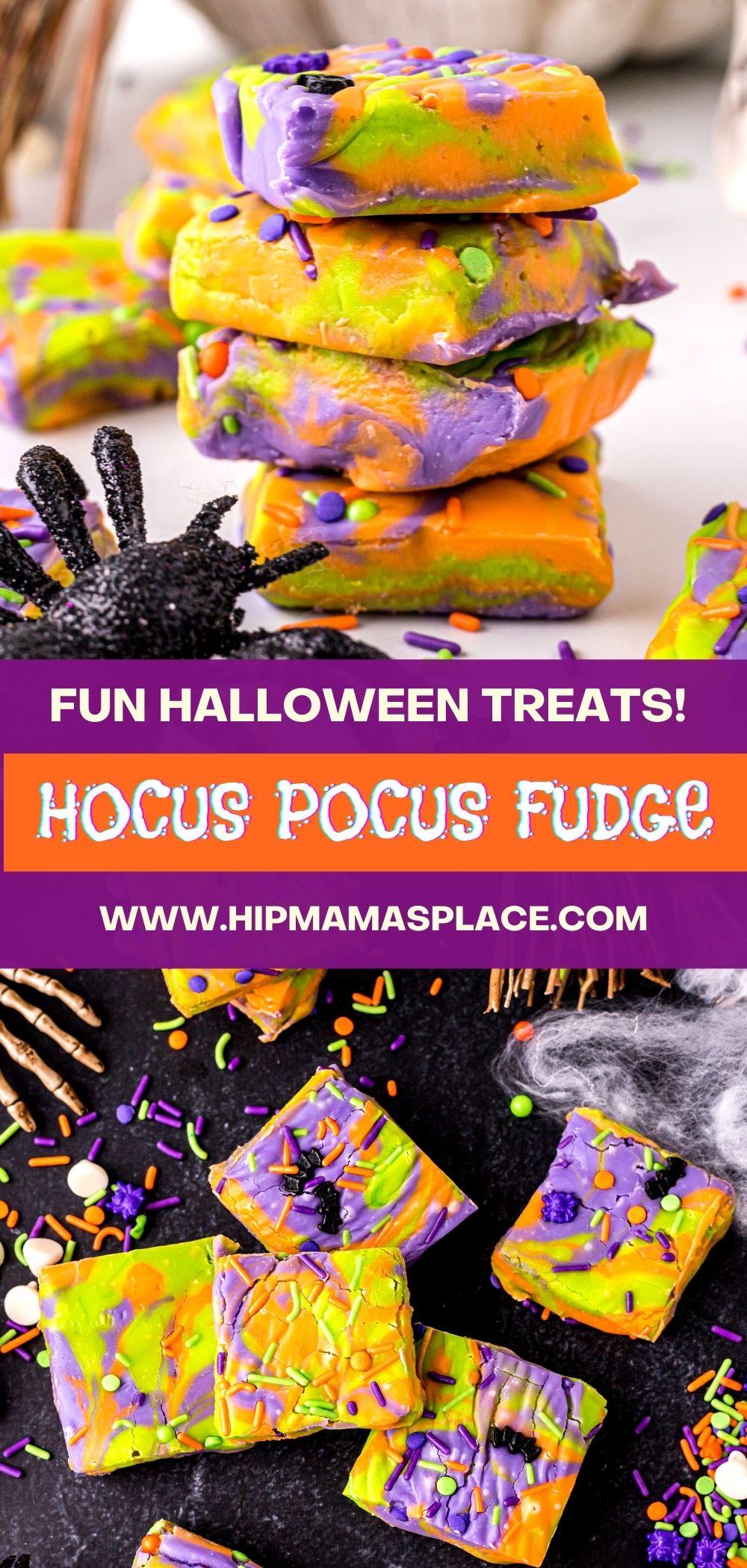 hocus pocus fudge recipe